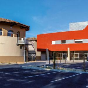 Clinique d'Orange entrée
